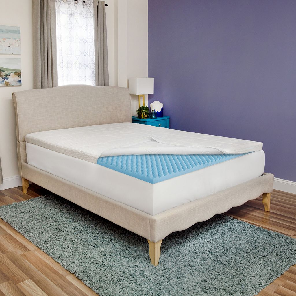 SensorPEDIC 3-inch Luxury Extraordinaire Mattress Topper