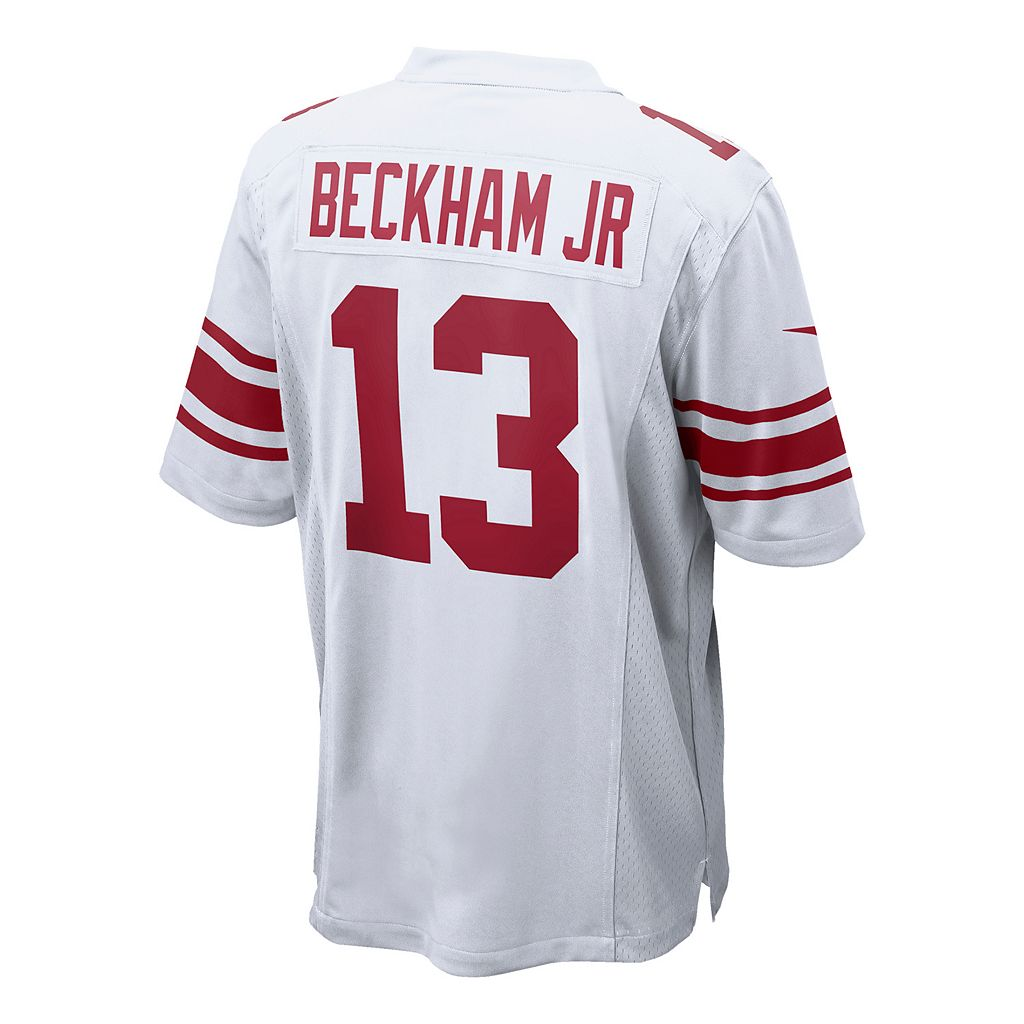 Men's Nike New York Giants Odell Beckham, Jr. Game NFL Replica Jersey