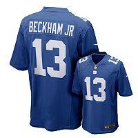 Men's Nike New York Giants Odell Beckham, Jr. Game NFL Replica Jersey