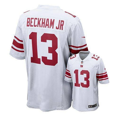 official photos 691d0 42c1b Men's Nike New York Giants Odell Beckham, Jr. Game NFL ...