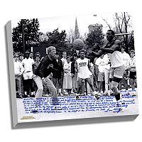 Steiner Sports Notre Dame Fighting Irish Lou Holtz Basketball vs. Tim Brown Facsimile 22