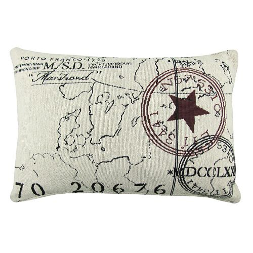 Park B. Smith World Throw Pillow