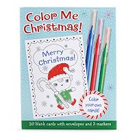 Kohl's Cares® 20-piece ''Color Me Christmas'' Card Set