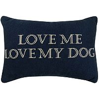 Park B. Smith ''Love Dog'' Throw Pillow