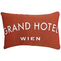 Park B. Smith ''Grand Hotel'' Throw Pillow