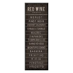 Art.com 'Wine Varieties I' Wall Art