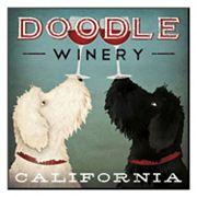 Art.com 'Doodle Wine' Wall Art