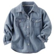 Carter's Chambray Button-Down Shirt - Baby Girl