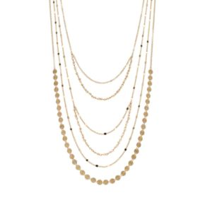 Bead Multistrand Necklace