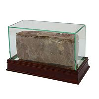Steiner Sports Glass Brick Display Case