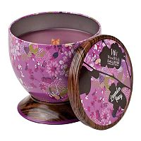 WoodWick Gallerie Tin 8.5-oz. Lavender Ivory Candle