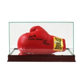 Steiner Sports Glass Boxing Glove, Cleat and Shoe Display Case