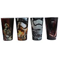 Star Wars: Episode VII The Force Awakens 4 pc Glass Set