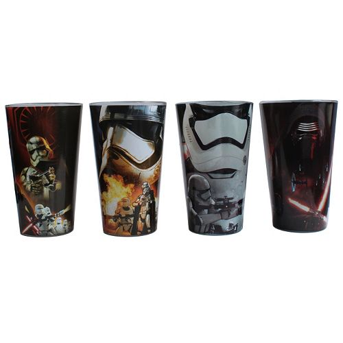 Star Wars: Episode VII The Force Awakens 4-pc. Glass Set