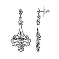 Downton Abbey Drop Earrings