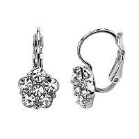 1928 Flower Drop Earrings