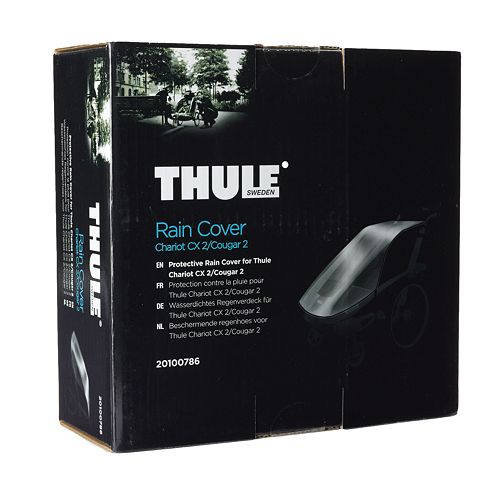 thule chariot cx 2 chariot cougar 2 rain cover. Black Bedroom Furniture Sets. Home Design Ideas