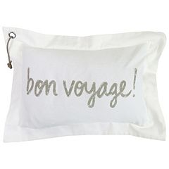 Park B. Smith ''Bon Voyage!'' Throw Pillow
