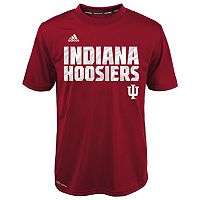 Boys 4-7 adidas Indiana Hoosiers Red Shock Energy Climalite Tee