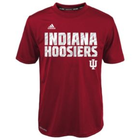 Boys 4-7 adidas Indiana Hoosiers Red Shock Energy Climalite Tee