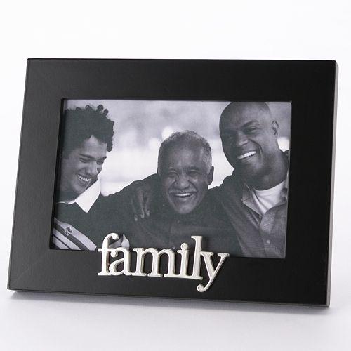 Malden 174 Quot Family Quot 4 Quot X 6 Quot Frame Black