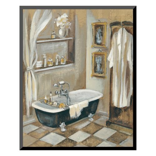 Art.com French Bath III Wall...