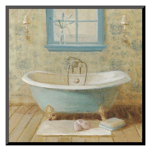 """Art.com """"Victorian Bath I"""" Wall Art"""