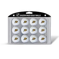 Team Golf Anaheim Ducks 12-Pack Golf Balls