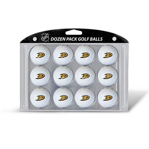 Team Golf Anaheim Ducks 12-Pack Golf Balls