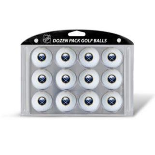 Team Golf Buffalo Sabres 12-Pack Golf Balls