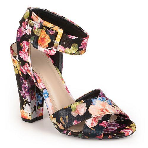 Journee Collection Senza Women's Peep-Toe High Heels