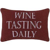 Park B. Smith ''Wine Tasting'' Throw Pillow