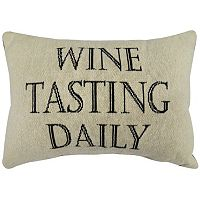 Park B. Smith ''Wine Tasting'' Throw Pillow