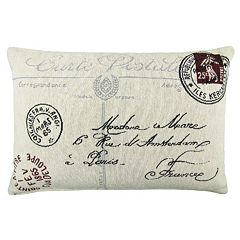 Park B. Smith ''Postale'' Throw Pillow