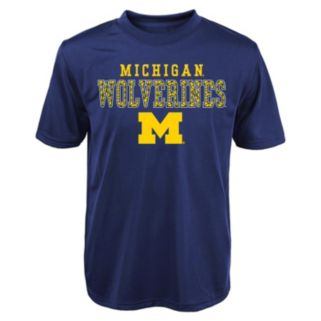 Boys 4-7 Michigan Wolverines Fulcrum Performance Tee