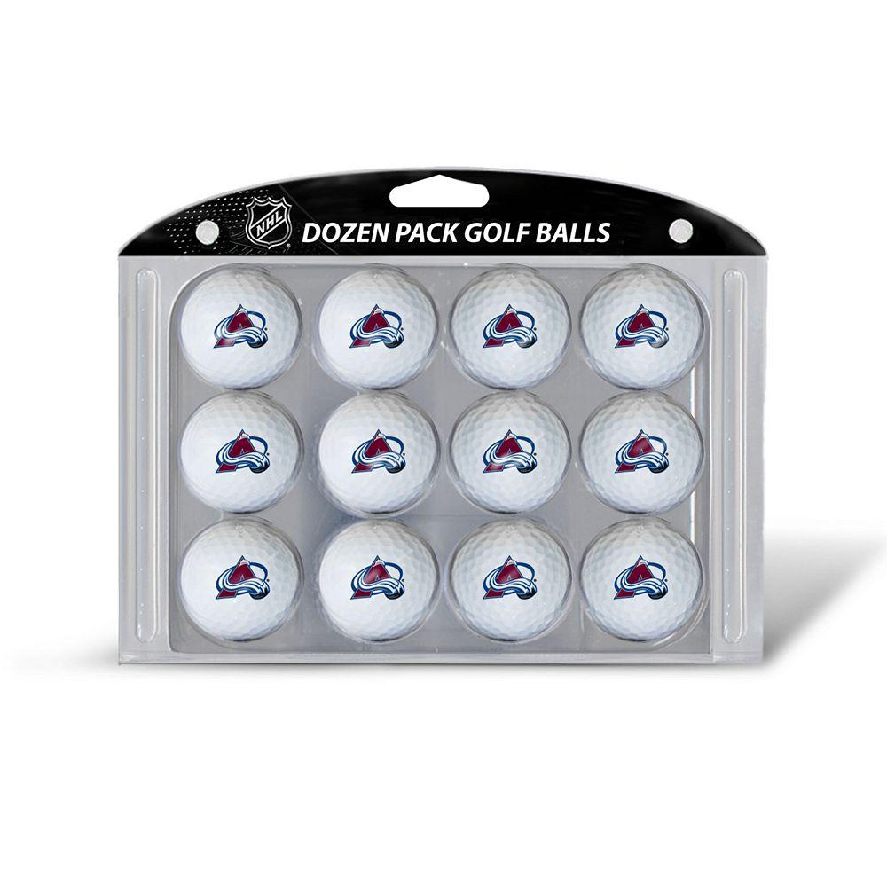 Team Golf Colorado Avalanche 12-Pack Golf Balls
