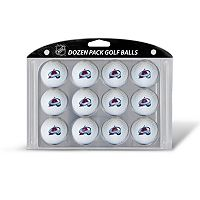 Team Golf Colorado Avalanche 12-Pack Golf Balls