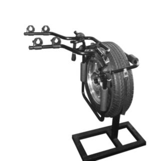Force Rax Deluxe Second Generation 2-Bike Spare Tire Car Rack