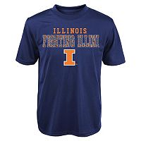 Boys 4-7 Illinois Fighting Illini Fulcrum Performance Tee