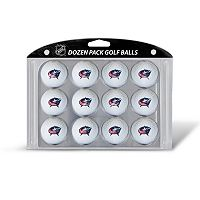Team Golf Columbus Blue Jackets 12-Pack Golf Balls