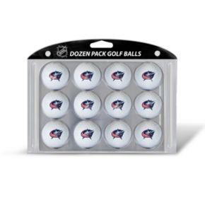 Team Golf Columbus Blue Jackets 12-Pack Golf Balls
