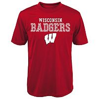 Boys 4-7 Wisconsin Badgers Fulcrum Performance Tee