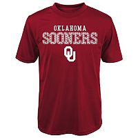 Boys 4-7x Oklahoma Sooners Fulcrum Performance Tee