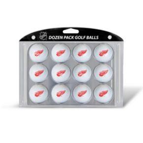 Team Golf Detroit Red Wings 12-Pack Golf Balls