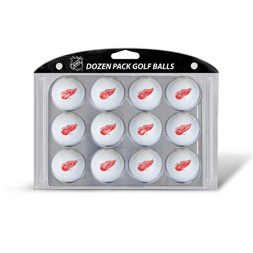 Team Golf Detroit Red Wings 12-Pack Golf Balls