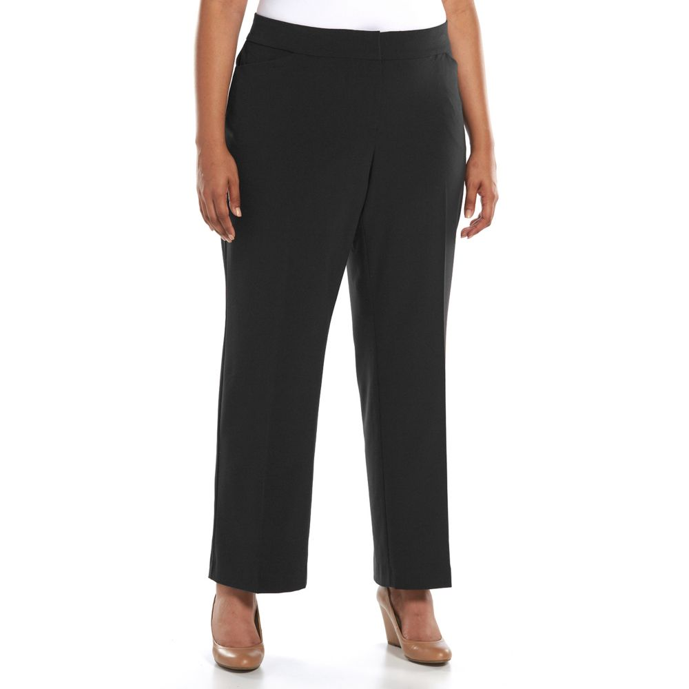 size croft & barrow® curvy fit dress pants