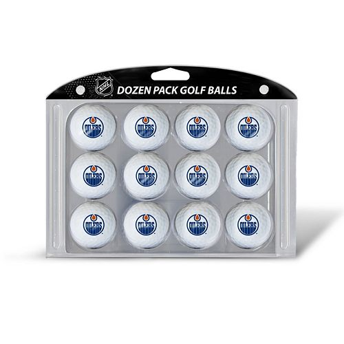 Team Golf Edmonton Oilers 12-Pack Golf Balls