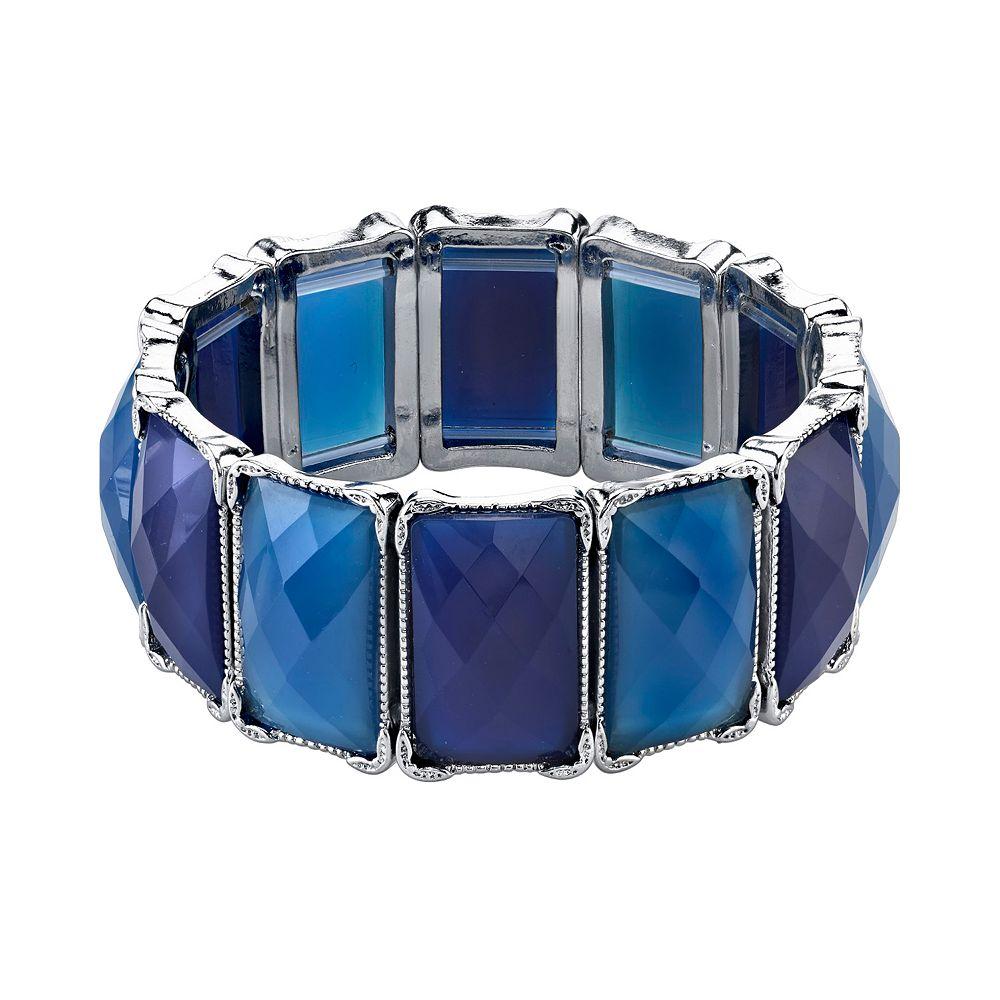 1928 Rectangle Stretch Bracelet