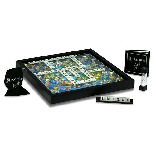 Winning Solutions Scrabble 3D World Edition by Charles Fazzino