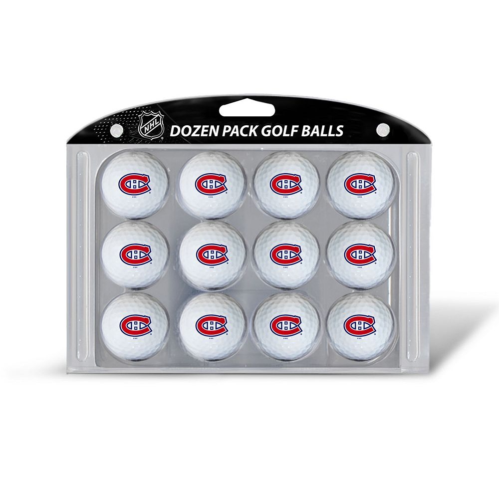 Team Golf Montreal Canadiens 12-Pack Golf Balls